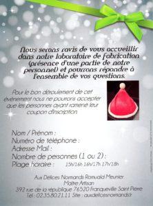 flyer degustation verso 2016